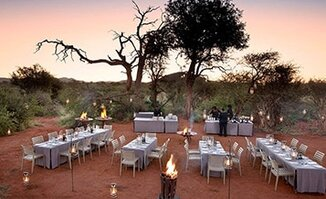 Bush breakfasts and dinners